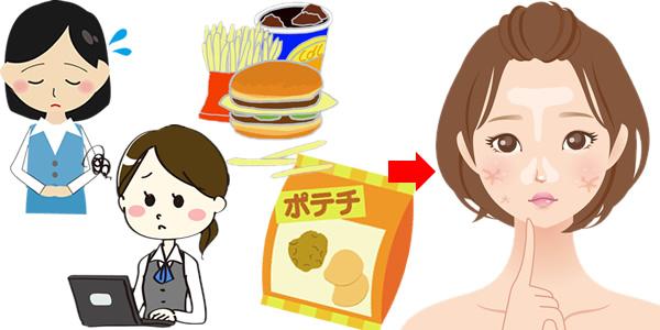 脂性乾燥肌の原因と対策