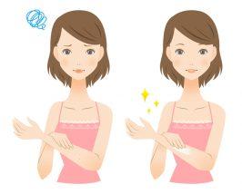 ムダ毛処理で肌がぶつぶつになった女性と適切に対処した女性