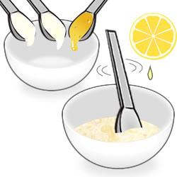 ヨーグルト×ハチミツの作り方①