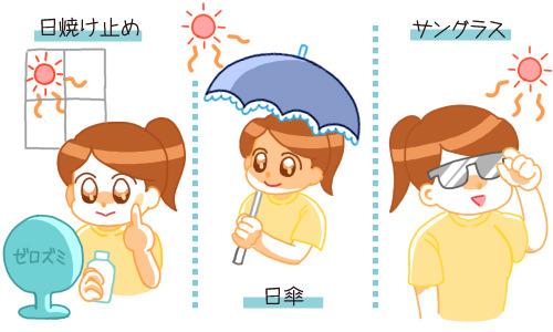 シミやくすみの原因となる紫外線は年中対策する