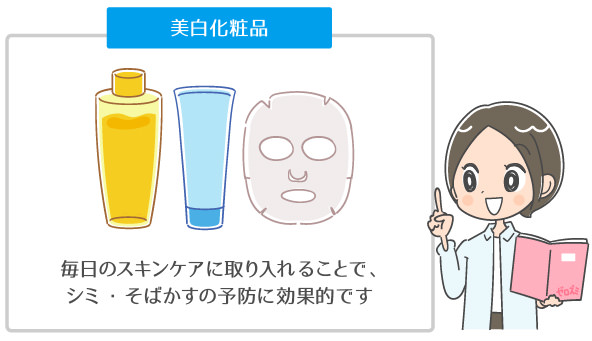 トラネキサム酸の美白化粧品